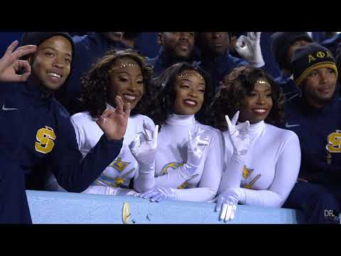 Southern University Fabulous Dancing Dolls | Senior Moment Highlights | Final Home Game 2019