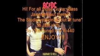 "AC/DC ""Beating Around the Bush"": Retuned A-440 Version"