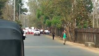 Peace Rally At Williamnagar To Condemn Brutally Attacked NCP Candidate Jonathan N Sangma By Militant