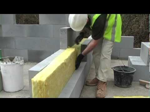 Separating Wall Construction & Fill With Insulation - H+