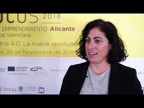 Cristina Aranda, de Intelygenz en #Focuspyme Alicante 2018[;;;][;;;]