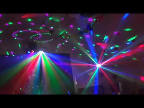 ADJ Revo Sweep,LED Discokugel,  ADJ Reflex Pulse, ADJ TRI GEM LED-Effektstrahler, EUROLITE LED D-24