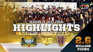 T10 League Final. Kerala Kings VS Punjabi Legends