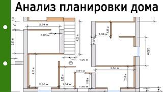 Анализ планировки дома. Классические ошибки. Консультация. #210818
