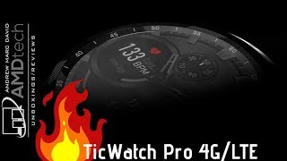 TicWatch Pro 4G: Unboxing & First Look (New for 2019)