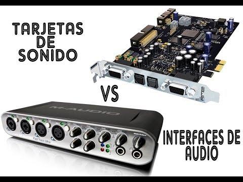 Análisis: Tarjetas de Sonido Vs Interfaces de Audio