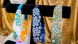 Ken Wingards DIY Fabric Scrap Headbands