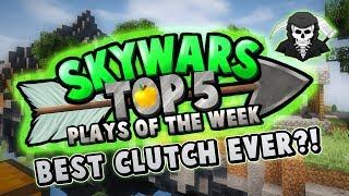 BEST CLUTCH EVER?! - Top 5 SKYWARS PLAYS of the Week