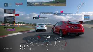 How to not behave when you get lapped in GT Sport