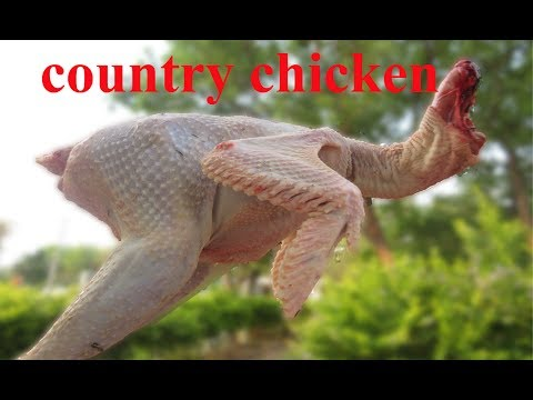 Grandma's Traditional Country Chicken Recipe in My Village | VILLAGE FOOD
