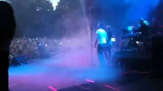 Eric Saade live break of Dawn (behind the scene)