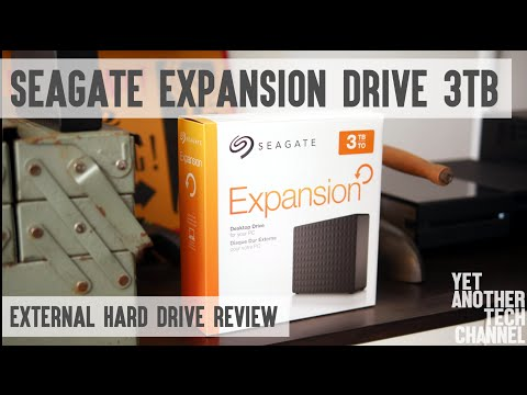 Seagate Expansion Drive 3TB – USB 3.0 external hard drive review