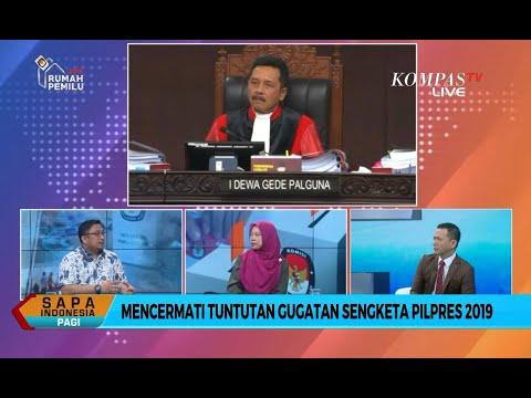 [DIALOG] Pengamat Nilai Gugatan Prabowo-Sandi Sulit Dibuktikan (Bag 2)