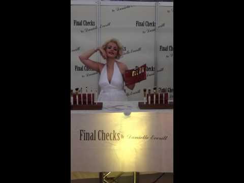 Burlesque Beauty Isabella Bliss as Marilyn Monroe modelling for Final Checks By Danielle Everitt