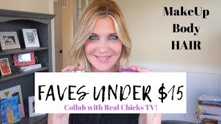 Favorites Under $15 | Affordable MakeUp, Hair and Body Products!