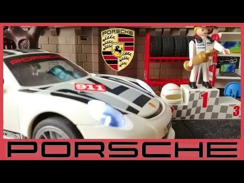 Playmobil Porsche 911 gt3 Cup 🏆🏁 Unboxing Porsche 🚘 Playmobil Coches de Carreras 9225