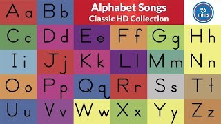 Alphabet Songs | ABC Song Collection | Teach The Letters And Sounds