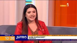"""Ilma Karahmet   Intervju Premijera Pjesme """"Ništa Tvoje""""   Jutro Na Prvoj Sa Jovanom Joksimović"""