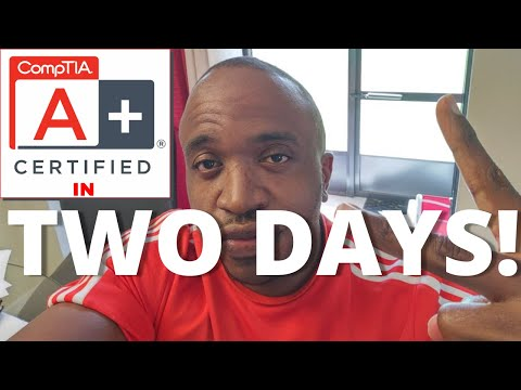 Comptia A+ Certified in 2 days!   Tips, how I did it.