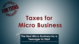 Taxes for  Micro Business