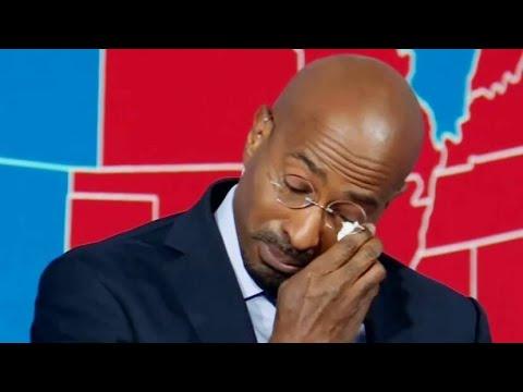 Van Jones Cries Tears Of Joy On CNN After Biden Wins