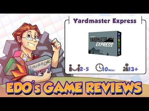Edo's Yardmaster Express Card Game Review