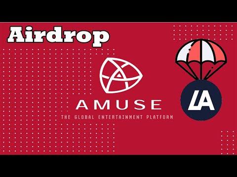 Airdrop Exchange LAtoken AMUSE , Ganhe no minimo U$5 dólares !