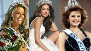 Top 10 Most Beautiful Miss Universe Winners In History || Pastimers