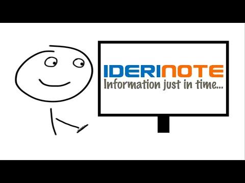 Kurzbeschreibung der Software IDERI note für Windows-Netzwerke
