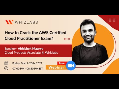 How to Crack the AWS Certified Cloud Practitioner Exam | Webinar ...