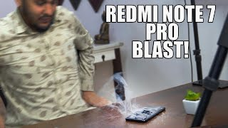 Redmi Note 7 Pro SMOKE! But It's very Durable!