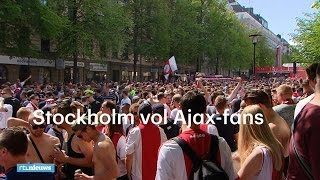 AJAX - Ajax-fans nemen Stockholm over: 'We drinken al sin - RTL NIEUWS