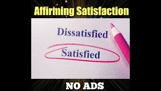 Abraham Hicks♥ Start Affirming Your Satisfaction