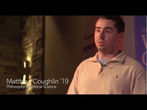 Matthew Coughlin '19(哲学与政治科学)