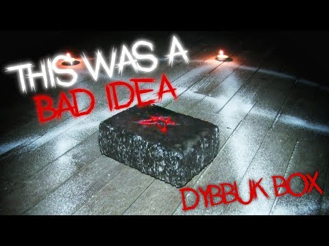 Real Cursed Dark Web Dybbuk Box Opening In Scary Abandoned Asylum 3am