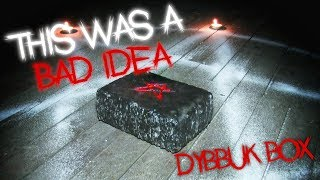 Real Haunted Cursed Dybbuk Box Opening (GONE WRONG) Very Scary Demon Box 3AM