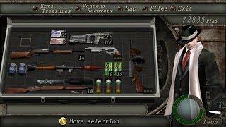 Cara mendapatkan SPECIAL WEAPON dan kostum untuk Leon - Resident Evil 4