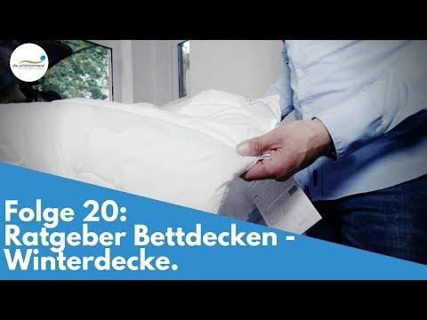 Folge 20: Ratgeber Bettdecke - Winterdecken