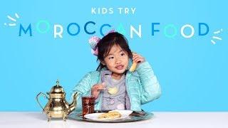 Kids Try Moroccan Food   Kids Try   HiHo Kids