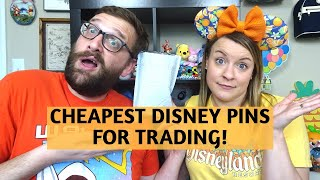The CHEAPEST Disney Pins For Trading At The Parks!