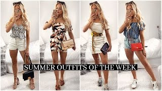 SUMMER OUTFITS OF THE WEEK 2019! / Casual Outfit Ideas Lookbook