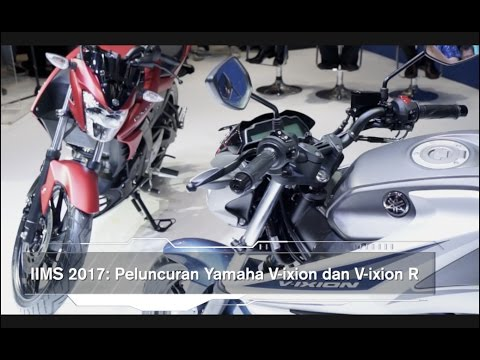 IIMS 2017 : Yamaha Luncurkan V-ixion dan V-ixion R
