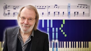 """Happy New Year"" - Breathtaking piano version by ABBA's Benny Andersson four decades later"