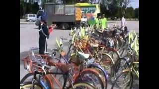 preview picture of video 'Kayuhan Santai Basikal Klasik ke Bandar DiRaja Klang 02.12.2012'