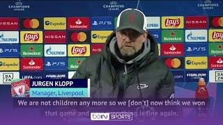 Leipzig win does not mean everything is fine again- Jurgen Klopp