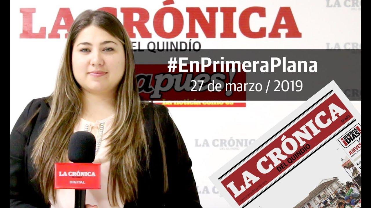 En Primera Plana: lo que será noticia este jueves 28 de marzo