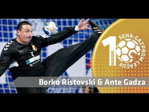 Great all-around play from Vardar 1961 by Ristovski & Gadza! I Best of 60 minutes