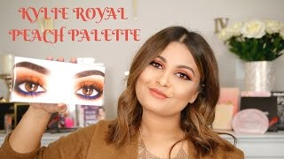 NEW KYLIE ROYAL PEACH PALETTE REVIEW & SWATCHES + SPECIAL ANNOUNCEMENT