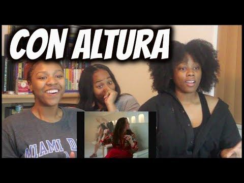 "Rosalia, J Balvin ft. El Guincho ""Con Altura"" || Reaction"