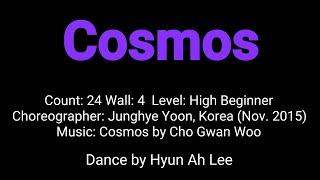 Cosmos Line Dance   High Beginner Junghye Yoon (Nov. 2015)